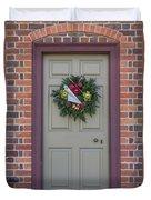 Doors Of Williamsburg 106 Duvet Cover