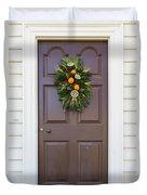 Doors Of Williamsburg 107 Duvet Cover