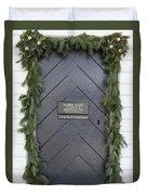 Doors Of Williamsburg 49 Duvet Cover