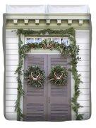 Doors Of Williamsburg 52 Duvet Cover