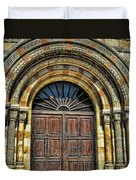 Doors To Holiness Duvet Cover