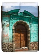 Doorway Quezaltenango Guatemala 1 Duvet Cover