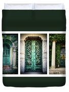 Doorways Of Woodlawn Duvet Cover