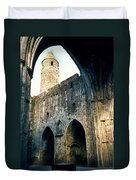 Doorways To The Cashel Castle Duvet Cover