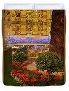 Dorchester Hotel London At Christmas Duvet Cover