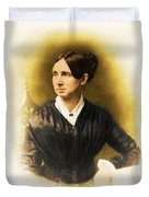 Dorothea Dix, American Reformer Duvet Cover by Photo Researchers