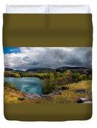 Dorothea Quarry Panorama Duvet Cover