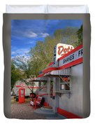 Dot's Diner In Bisbee Duvet Cover