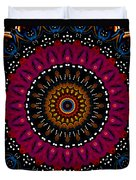 Dotted Wishes No. 5 Kaleidoscope Duvet Cover