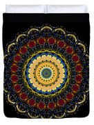 Dotted Wishes No. 6 Mandala Duvet Cover