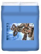 Douala New Freedom Monument Duvet Cover