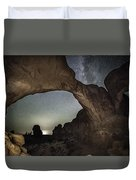 Double Arch Beneath The Stars Duvet Cover