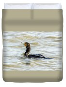 Double-breasted Cormorant Duvet Cover