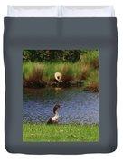 Double-crested Cormorant 2q Duvet Cover