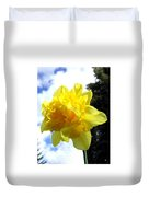 Double Daffodil Duvet Cover