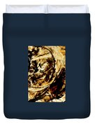 Double Espresso Duvet Cover by Sharon Cummings