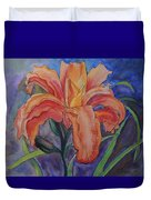 Double Lily Duvet Cover