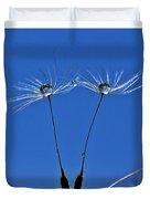 Double Sky Dandelion Duvet Cover