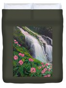 Double Hawaii Waterfall Duvet Cover