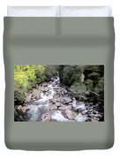 Doubtful Sound Duvet Cover by Joyce Woodhouse