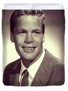 Doug Mcclure, Vintage Actor Duvet Cover
