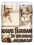 Douglas Fairbanks In The Knickerbocker Buckaroo 1919 Duvet Cover