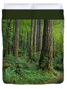 Douglas-fir Duvet Cover