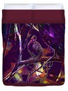 Dove Birds Animals Nature  Duvet Cover