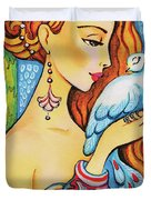 Dove Fairy Duvet Cover