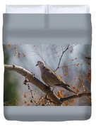 Dove On A Branch Duvet Cover