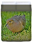 Dove With Hdr Duvet Cover