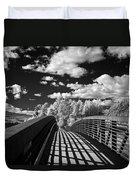 Dover Slough Bridge 1 Duvet Cover