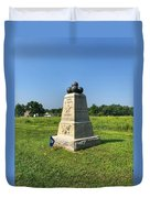 Dow 6th Maine Battery Duvet Cover