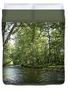 Down Beside Where The Waters Flow Duvet Cover