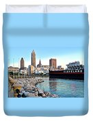 Down By The Lake Duvet Cover