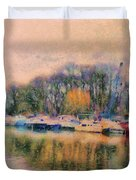 Down By The Riverside Duvet Cover