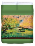 Down In The Bayou Duvet Cover