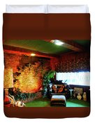 Down In The Jungle Room Duvet Cover