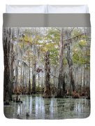 Down On The Bayou - Digital Painting Duvet Cover