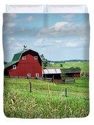 Down On The Farm Duvet Cover