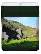 Down The Valley Duvet Cover