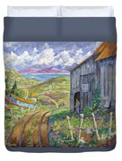 Down To The Fjord Duvet Cover