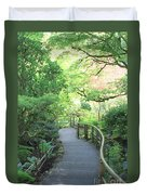 Down To The Garden Duvet Cover