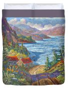 Down To The Lake Duvet Cover