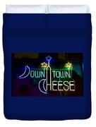 Down Town Cheese Duvet Cover