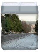 Downhill Duvet Cover