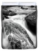 Downstream From Anna Ruby Falls Duvet Cover