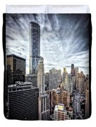 Downtown Chicago Cityscape 1  Duvet Cover