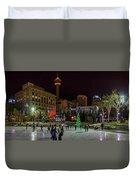Downtown Christmas Duvet Cover