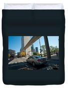 Downtown Detroit Duvet Cover